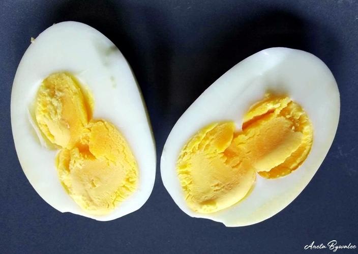 ptasie jaja - dwużółtko