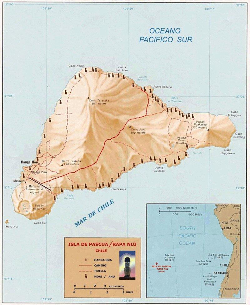 Mapa-Rapa-Nui Co się stało z Rapa Nui?