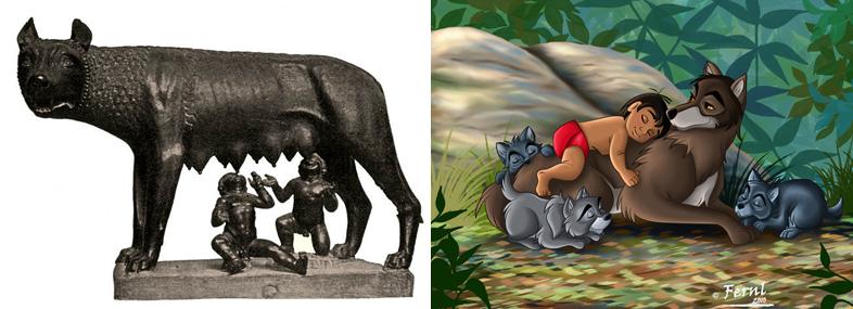 Bajki Wizerunek wilka w różnych kulturach