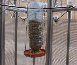 karmnik-300x253 Czy powinniśmy zimą dokarmiać ptaki?