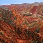 krajobrazy Zhangye Danxia