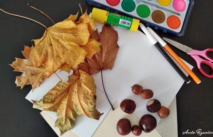 barwy jesieni wycinanki