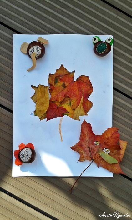 barwy-jesieni-wycinanki Barwy jesieni - inspiracje na jesienne zabawy z dziećmi