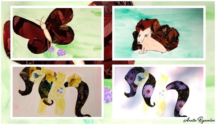 barwy-jesieni-wycinanki Skarby jesieni - inspiracje na jesienne zabawy z dziećmi