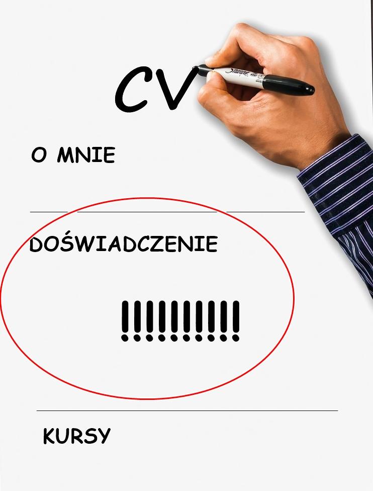 Jak zdobyć doświadczenie - CV