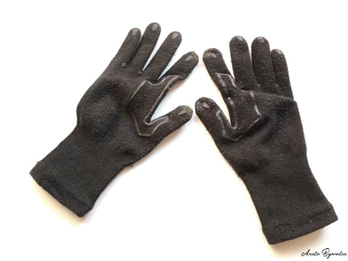 Rękawiczki z antypoślizgiem do dotykania urządzeń cyfrowych